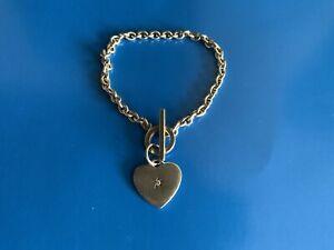 Kit Heath Diamind T-bar Chain Bracelet