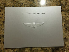 2016 HYUNDAI GENESIS Sedan 22-page Original Sales Brochure