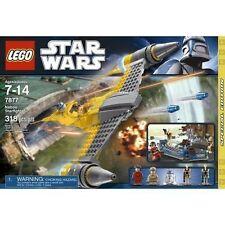 Lego Naboo Starfighter (7877) New Nisb Rare Retired