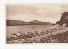 The Lake & New Road Bala Postcard, A487
