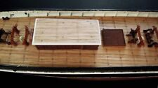 Revell Cutty Sark 1:96 - laser cut wooden deck for model