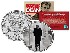 JAMES DEAN *1955 NYC Boulevard of Broken Dreams* JFK Kennedy Half Dollar US Coin