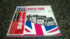 """BEATLES """"The Beatles Story"""" 1970's Japan ONLY PROMOTIONAL 2Lp BOX SET w/fat book"""