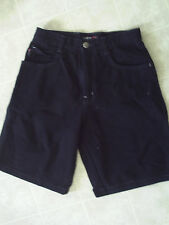 Boys Black Southpole Jean Shorts sz 16