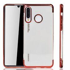 Huawei P30 lite New Edition Hülle Case Handy Schutz Tasche Schutzhülle Etui Rot