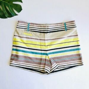 Ann Taylor LOFT The Riviera Striped Chino Shorts 4