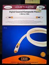 IXOS digital coaxial RCA a RCA Cable 1m XHD608