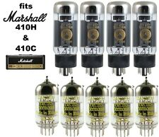 Electro-Harmonix Tube Set for Marshall JVM410H + 410C with Matched Quad EL34
