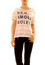Sundry Women's Mer Amour Soleil Striped T-Shirt Size US 1 RRP £77 BCF611