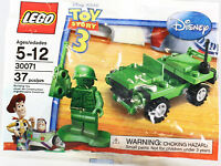 LEGO 30071 Toy Story US Army Man solider Jeep Polybag NEW