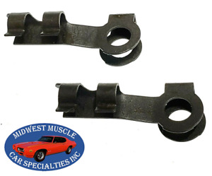 "GM GMC 5/32"" Carburetor Throttle Rod Transmission Shifter Linkage Clips 2pc VQ"