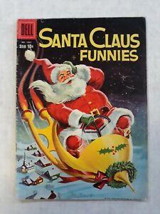 Dell Four Color Comics 1063 Santa Claus funnies