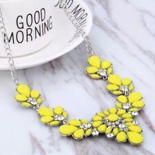 Fashion Charm Crystal Statement Necklace Jewel Rhinestone Gems Collar Bib UK