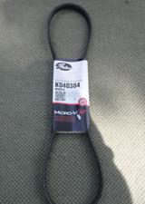 Gates K040384 Serpentine Belt-Premium OE Micro-V Belt