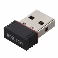 New Mini USB WiFi Dongle 802.11 B/G/N Wireless Network Adapter for Laptop PC UK
