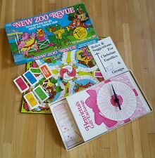 The New Zoo Revue (Board Game, 1981) fun family communication RARE COMPLETE!