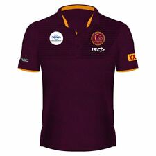 BRISBANE Broncos 2018 Official Mens Polo Shirt by ISC S