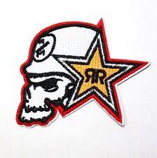Rock Star Energy Drink Bike Motorcycle Motocross Racing Sports Jacket Iron Patch
