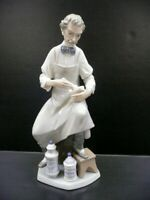 "Lladro 4844 ""Pharmacist"" Glossy Finish by Salvador Furio Retired"