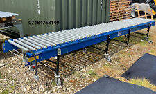 More details for fmh 6 meter long sections of powered feeding conveyor roller sortation system