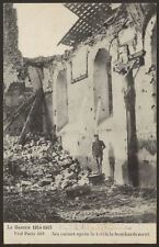 France - Paris - 8, Rue Simon-le-Franc après le Bombardement - Old Postcard