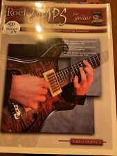 Rock chops for a guitar with CD included