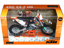 AUTOMAXX 601501OR KTM 450 SXF SX-F 09 2009 DIRT BIKE 1/12 ORANGE