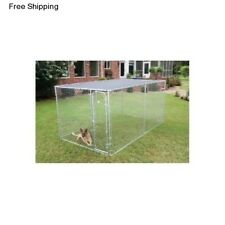 PetSafe Sunblock Top Cover Shade Screen f/ 10x10 Outside Dog Kennel Cage Playpen