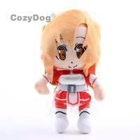 Sword Art Online Anime Asuna Plush Doll Cute Soft Stuffed Toy Children Gift 12''