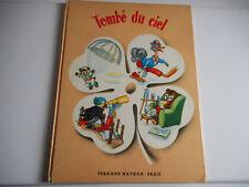 TOMBE DU CIEL - FERNAND NATHAN - 1954