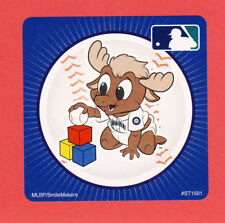 10 Seattle Mariners Mascot - Large Stickers - Major League Baseball