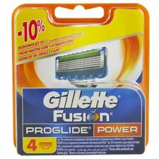 4 Gillette Fusion ProGlide Power Rasierklingen 4 Stück Klingen in OVP