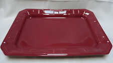 "Longaberger Woven Traditions Paprika 12"" X 17� Serving Tray - Made in Usa"