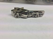 Racing Car Sport Pp-T05 English Pewter Emblem on a Tie Clip 4cm long