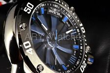 25848 Invicta Men's Speedway Turbine Automatic 52mm Blu Dial Black Bracelet Watc