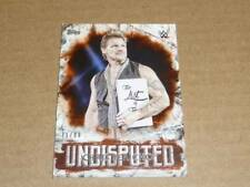 2018 Topps WWE WRESTLING UNDISPUTED CHRIS JERICHO ORANGE PARALLEL /99 O3359