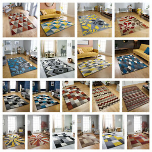 LARGE MODERN RUGS&RUNNERS,HARD WEARING,GEOMETRIC,ABSTRACT,FLORAL,ETHNIC,PORTLAND