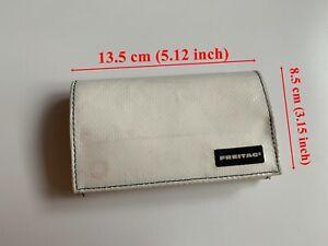 FREITAG F554 Max Wallet White / Orange 13.5 x 8.5 x 2 cm