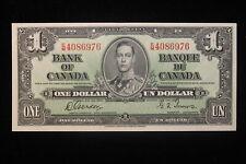 1937 Canada. ($1) One Dollar. Series E/M. Gordon-Towers.