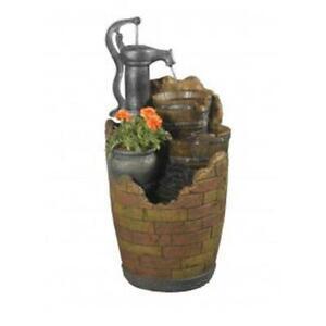 Fountain Cellar FCL003 Glenville Water Pump Cascading Water Fountain