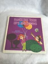 Handling Your Ups And Downs By Joy Wilt 1979 First Edition