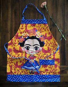 Frida Khalo Multi-Purpose one pocket adult apron