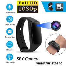 Full HD 1080P SPY DVR Hidden Camera Wearable Bracelet Mini DV Video Recorder AU