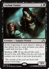 ASYLUM VISITOR Shadows over Innistrad MTG Black Creature — Vampire Wizard Rare