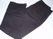Ladies Lee Lower on the Waist Chocolate Brown Jeans Straight Leg Sz 6 Petite