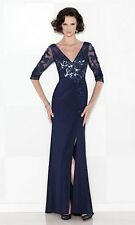 6ec45b9454d Authenic Cameron Blake by Mon Cheri 114663-color Navy-size 18-mother of