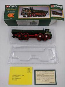 Corgi Classics 11001 ERF KV 8 Wheel Dropside Lorry Eddie Stobart Ltd 1:50 BNIBOX