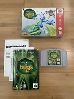 A Bug's Life Nintendo 64 N64 Authentic CIB Complete Cart Box Manual - Ships Fast
