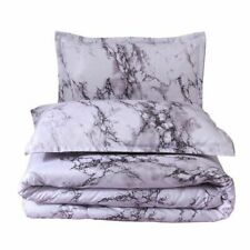 Queen Size Double Bed Marble Pattern Comforter Bedding Sets 228*228cm Comforter