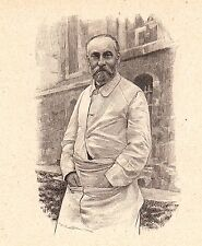 Portrait Docteur Edouard Jeanselme Médecine Pathologie